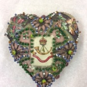 WW1 Sweetheart pin cushion