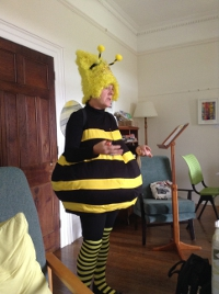 Bee monologue performed by Helene Dolder