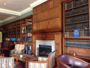 Auckland Castle Library Tea Room