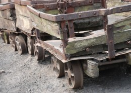 old mine carts