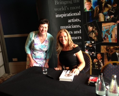 Book signing Michelle Mone