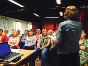 Penny talking to WI group
