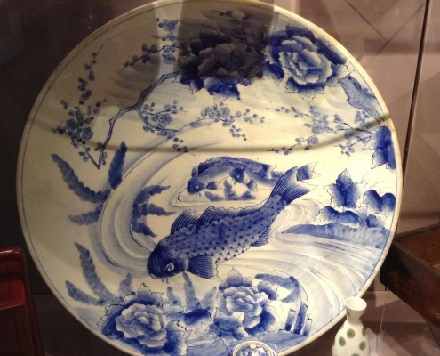 Carp plate, OM museum collection