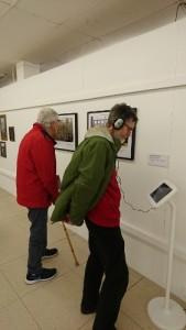 My Somme exhibit listening pos