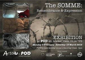 Somme exhibition poster