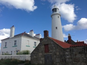 St Mary's lighthouse and visitor centre