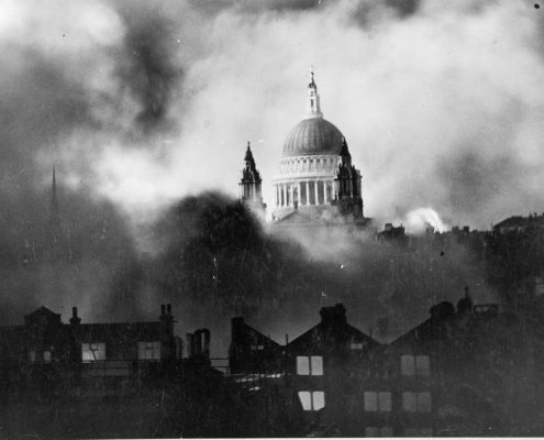 St Pauls in WW2