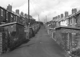 Back Street Easington Colliery