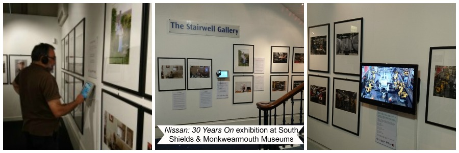 Nissan: 30 Years On exhibition collage