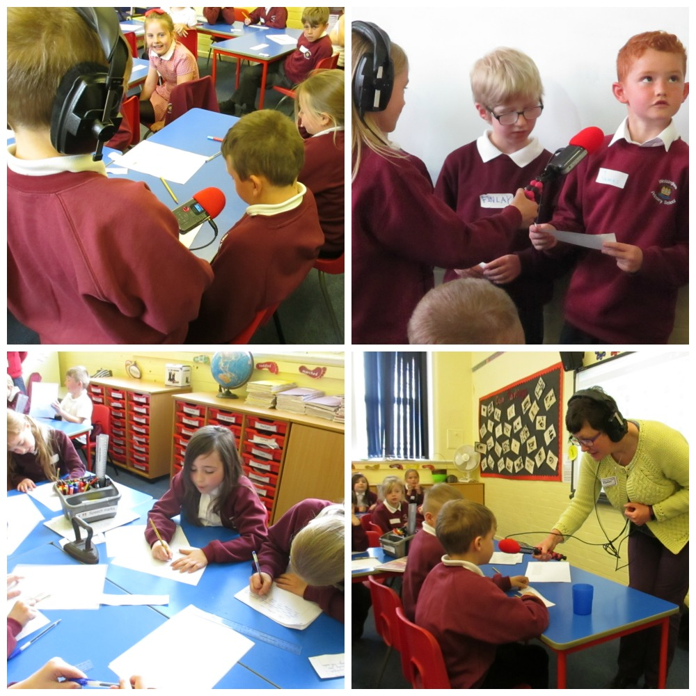 Recording with Y3 Wolsingham Primary School