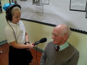 Recording a past pupil of St John's Chapel