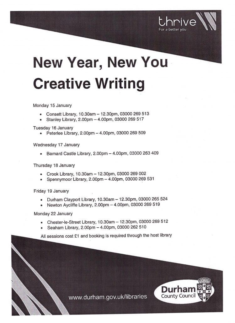 New Year New You session timetable