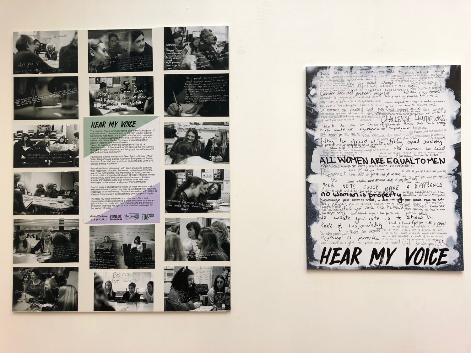 Hear My Voice exhibition