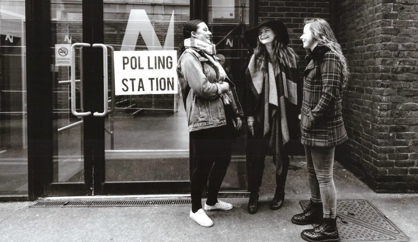 Women at the Polling Station Image: Sophie Teasdale Von Fox Productions
